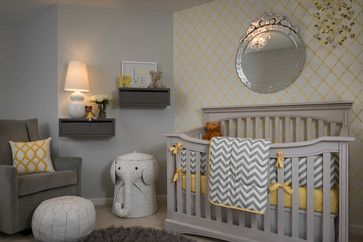 Transitional Nursery by Nashville Interior Designers & Decorators with Beckwith Interiors