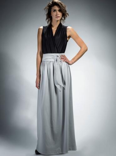 #Spódnica #maxi z paskiem, który podkreśla talię.  #spódnice #pasek #bawełna #moda #kobieta #elegancka #szyk #styl #fashion #polishdesign #madeinPoland #skirt #womentrends #style