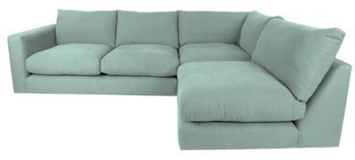 RJR.John Rocha Flat weave fabric 'Trinity' right-hand facing corner sofa | Debenhams