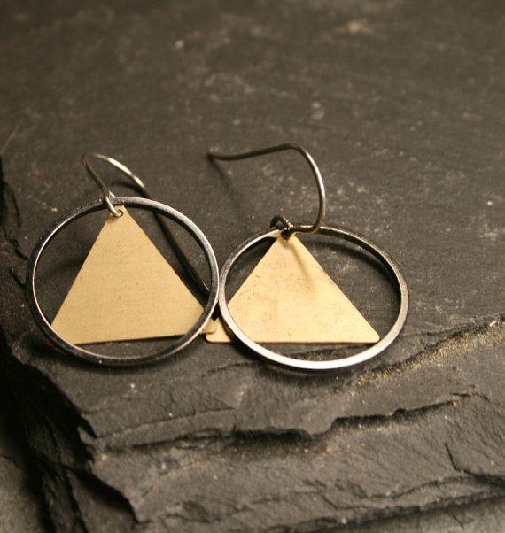 Geometric earrings $16