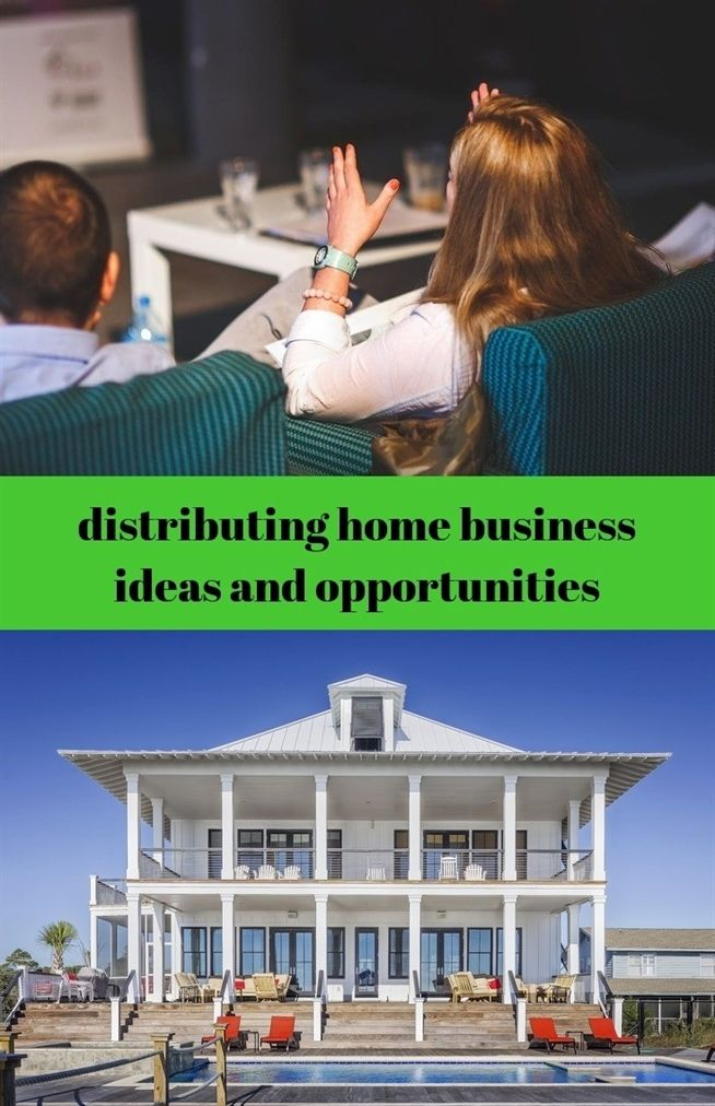 Distributing Home Business Ideas And