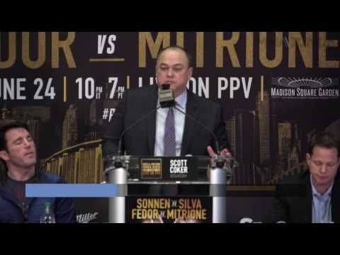 MMA Bellator President Scott Coker discusses promotions pay-per-view future