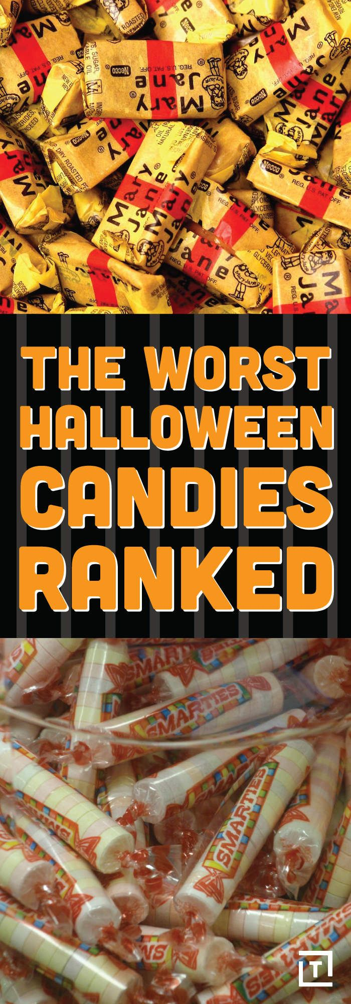 THE 18 WORST HALLOWEEN CANDIES KNOWN TO MAN