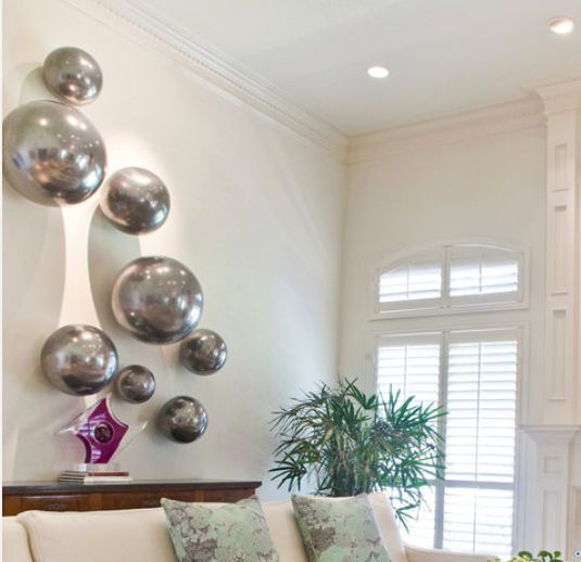 28 Best Images About Silver Balls On Pinterest Gardens