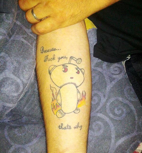 Le Reddit Tattoo