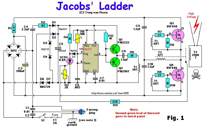 Jacob's Ladder Schematic Diagram | Jacob's ladder ... on jacobs electronics coil, jacobs electronics ignition system, jacobs electronics serial number,