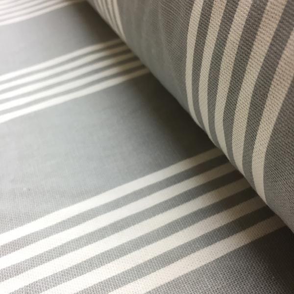 Grey Stripe - Double width.