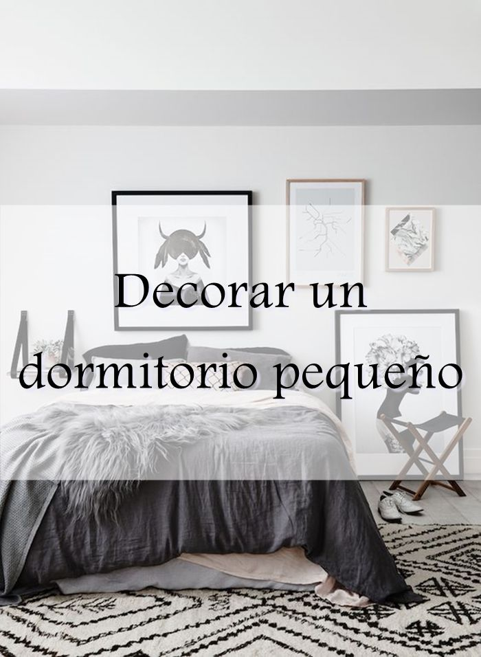 Alquimia deco decorar un dormitorio peque o deco - Como decorar un bar pequeno ...