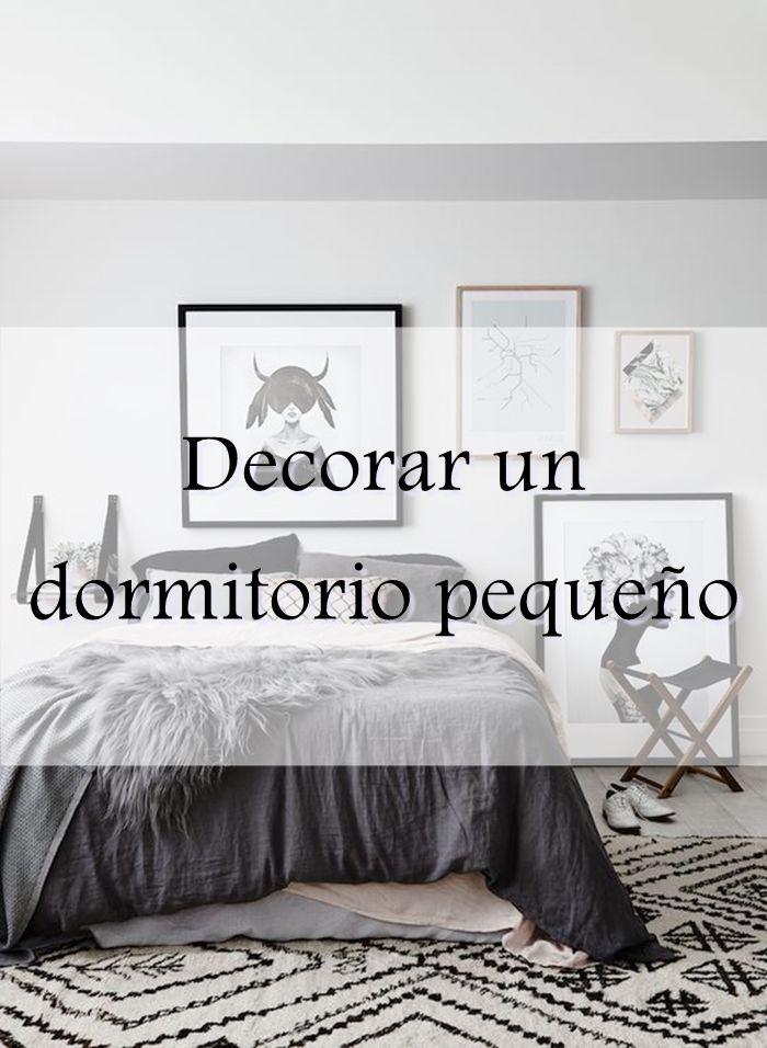 Alquimia deco decorar un dormitorio peque o deco pinterest deco - Decorar habitacion principal ...
