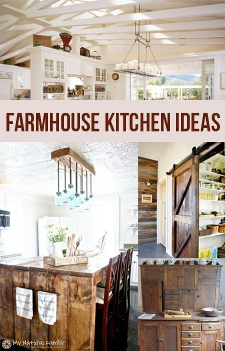 17 best images about farmhouse kitchen on pinterest for Country kitchen pantry ideas