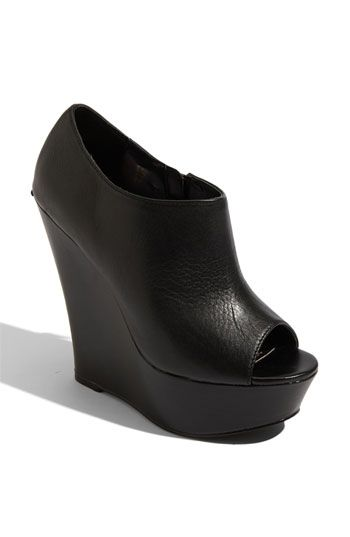 I think this is exactly what I've been looking for. Steve Madden wedge bootie $87