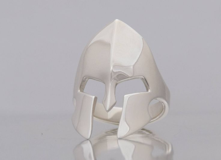 Big Sterling Silver 925 Spartan Ring Warrior Ring Man