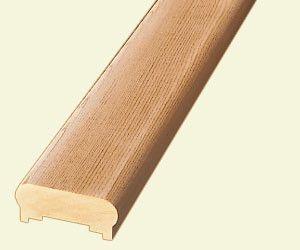 Best Stair Simple Cedar Rail 201 Profile With Dual Slots 400 x 300