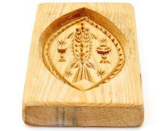 RUSSIAN FISH. Wooden presses for pechatniye pryanik. ART 101-004-0007-15 - Edit Listing - Etsy