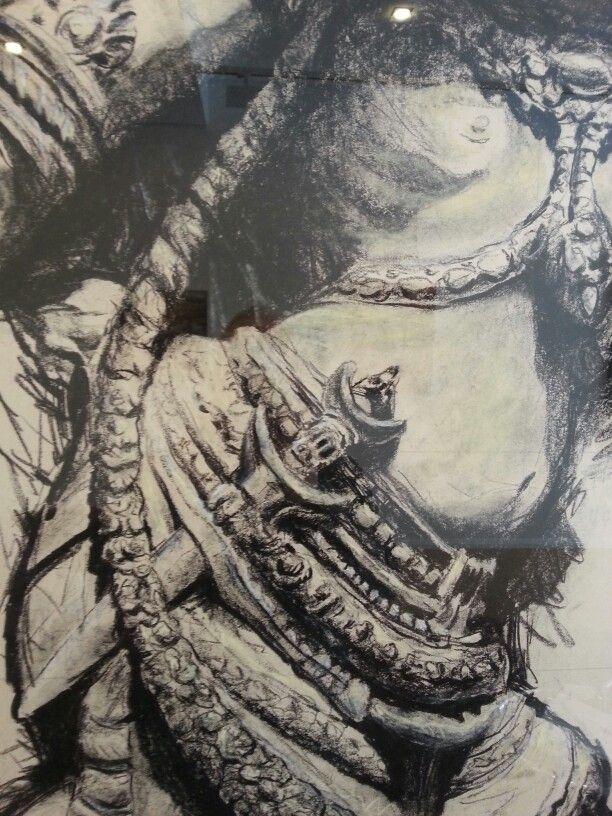 Artist.  Jean - Louis Diaz Exhibition at Harvison Gallery www.harvison.com.au