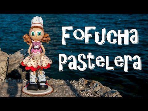 FOFUCHA PASTELERA - GOMA EVA - YouTube