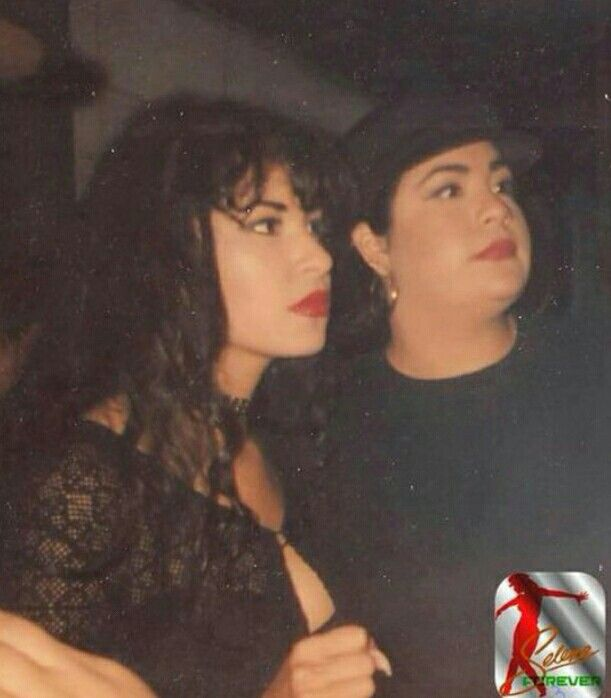 Selena and Suzette looking of into the distance