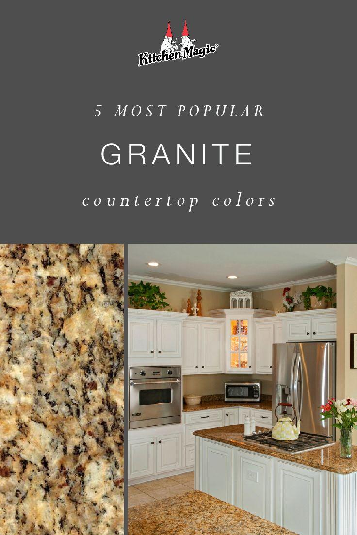 Most Popular Granite Countertop Colors Updated Popular Granite Countertops Countertop Colours Granite Countertops