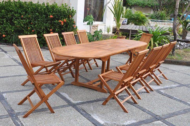 interior design:Table Exterieur Bois Lubok Ovale Table ...