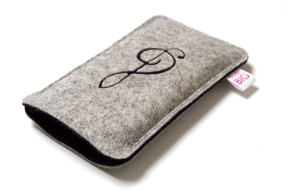 Smartphone case felt CLEF custom phone cover with by StudioBIG