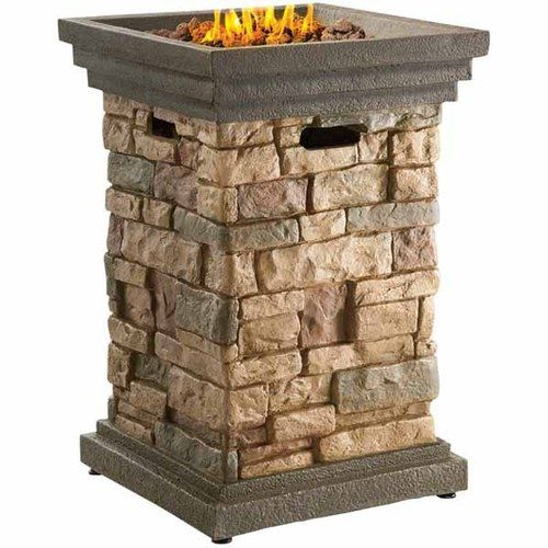 Canyon Ridge Gas Fire Column (With images) | Gas firepit ...