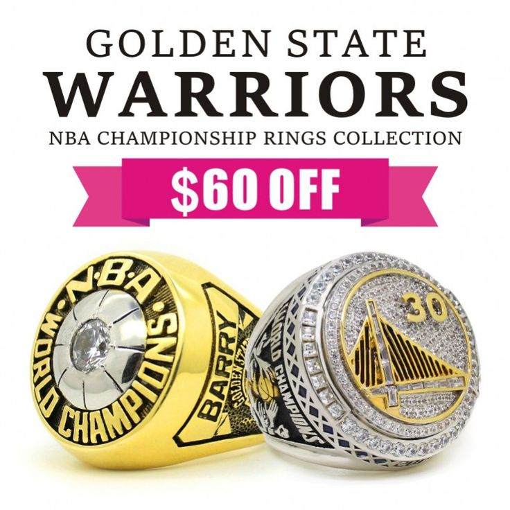 Golden State Warriors Championship: 43 Best NBA Championship Rings Images On Pinterest