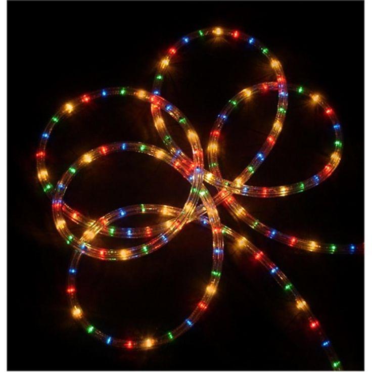sienna 102 multi color indooroutdoor christmas rope lights - Tube Christmas Lights