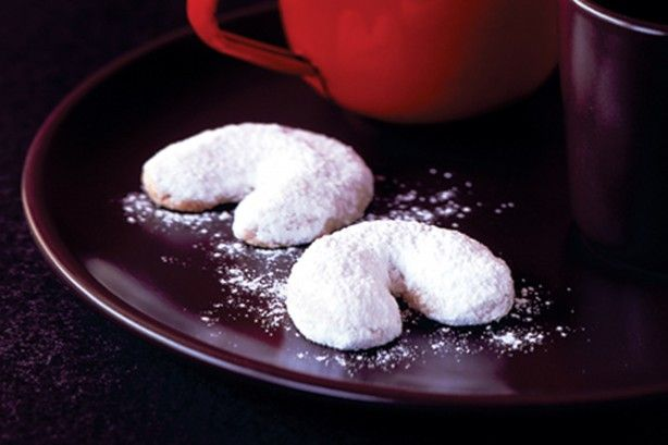 Delicately infused with rosewater, these rich almond shortbread are what dreams are made of!