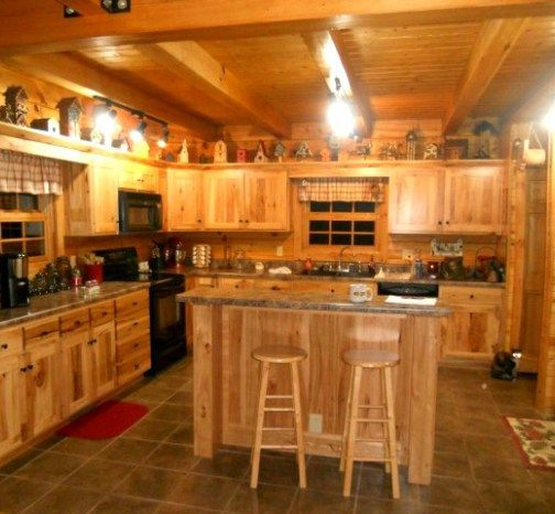 Kitchen Counters Albany Ny: 1000+ Ideas About Hickory Cabinets On Pinterest
