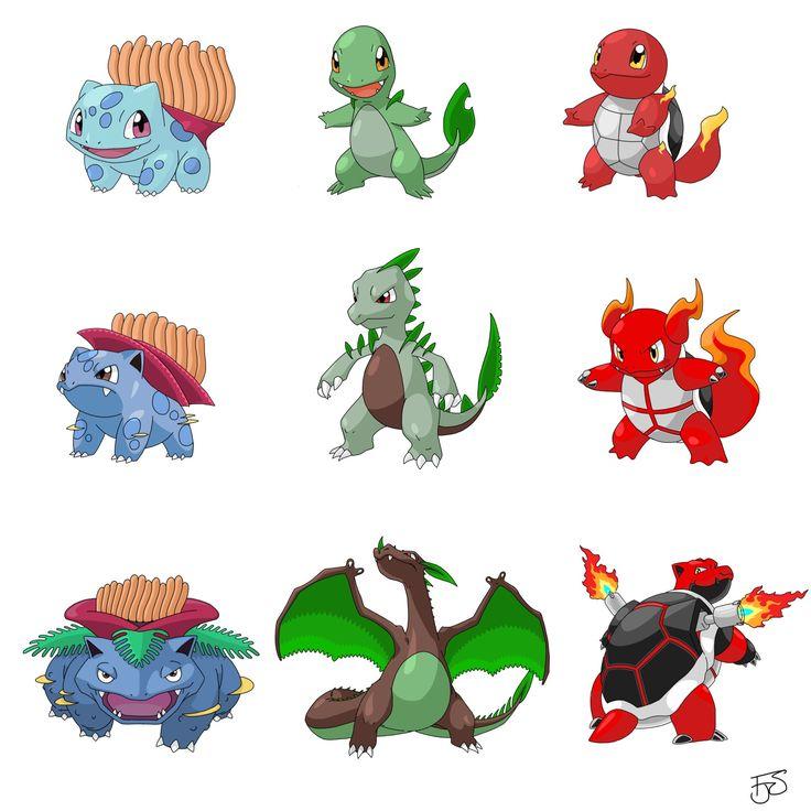 Type Swapped Pokemon. | Dessin pokemon, Histoire pokemon, Pokemon réaliste