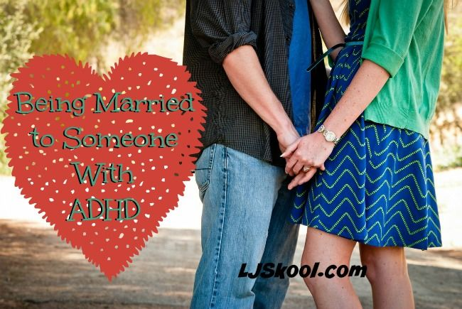Being married to someone with ADHD can be... well... yeah. Get some encouragement here!