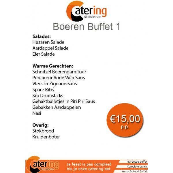 Catering Nieuwleusen Boeren Buffet 1