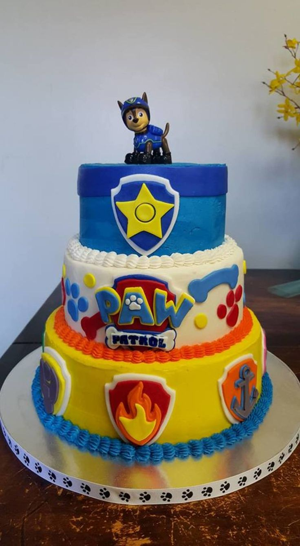 Paw Patrol Cake On Cake Central Pi 241 Atas Fiesta