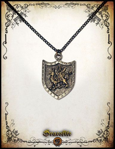 Griffin pendant jewelry - Handmade pendant by Dracolite on Etsy