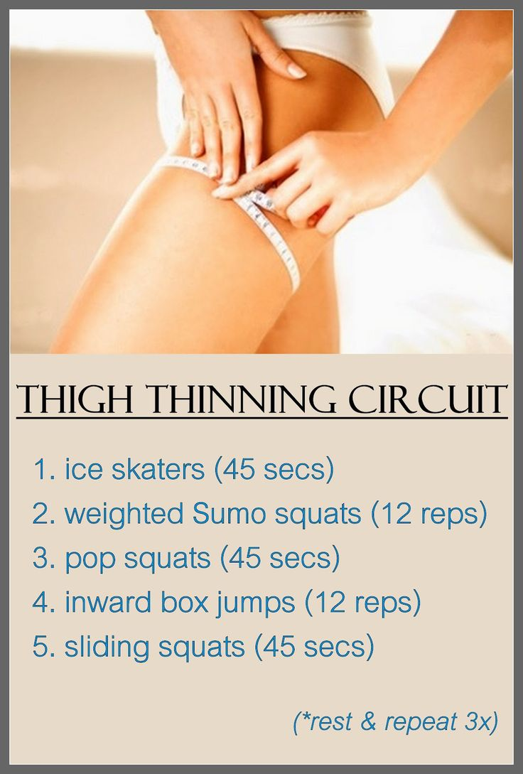 An awesome inner and outer thigh circuit designed to burn fat while sculpting gorgeous legs.