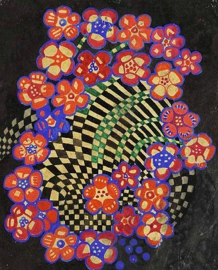 Charles Rennie Mackintosh  Tobacco Flower  1915-23