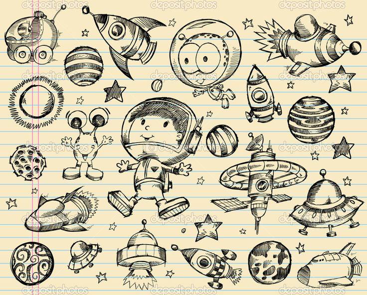 depositphotos_12723881-Outer-Space-Doodle-Sketch-Vector-Illustration-Set.jpg (1024×825)