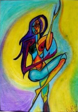 "Saatchi Art Artist Sina Muscarina; , ""Ankh"" #art sinamuscarina"