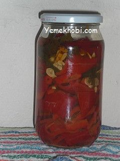 yağlı kırmızı biber