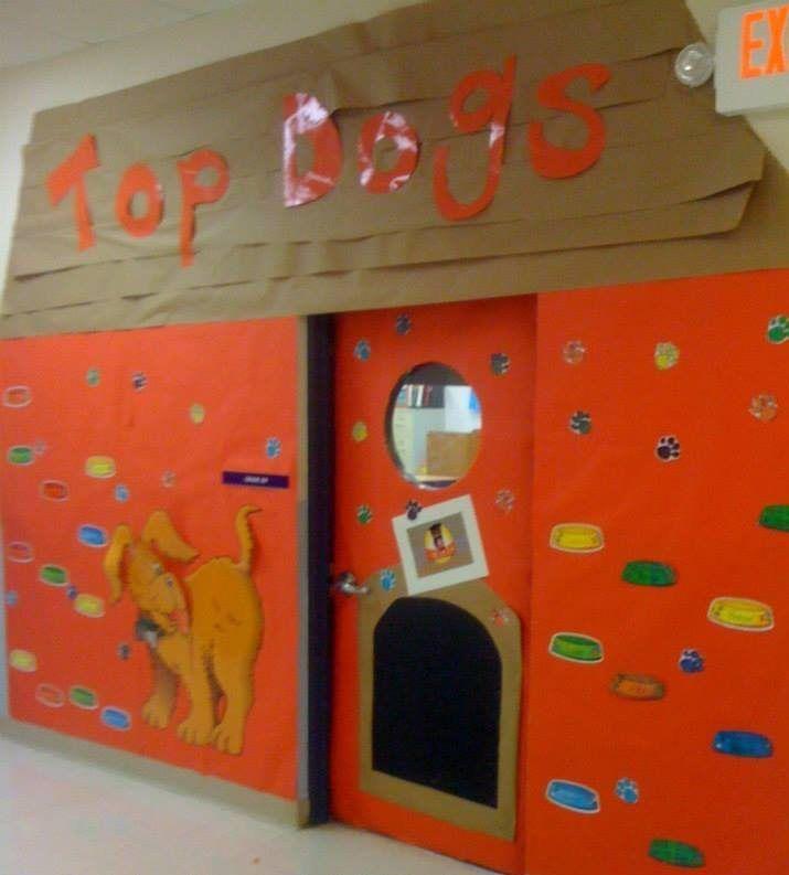 Top Dogs Back To School Hallway Decoration Idea