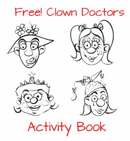 Free Downloadable Clown Doctors Activity Book http://womenfreebies.co.nz/general-freebies/free-clown-doctors-activities/