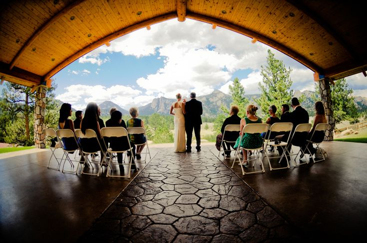Black Canyon Inn - Pavillion. Estes Park Wedding & Reception Venue 1.5hr from Denver - this is definitely under consideration!