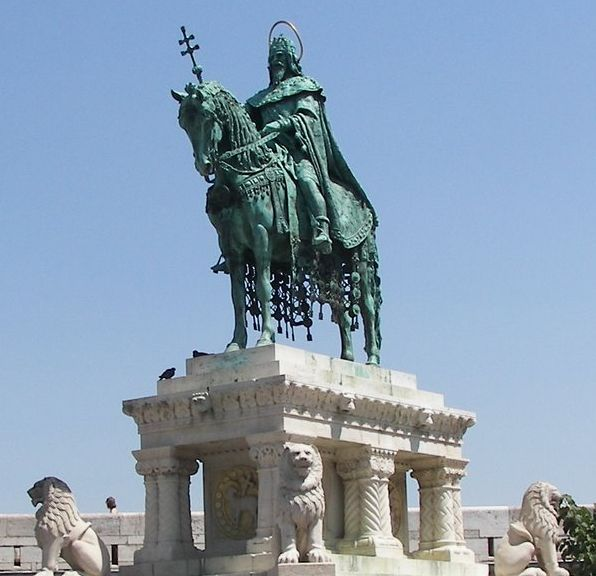 Stephen I, the first king of Hungary
