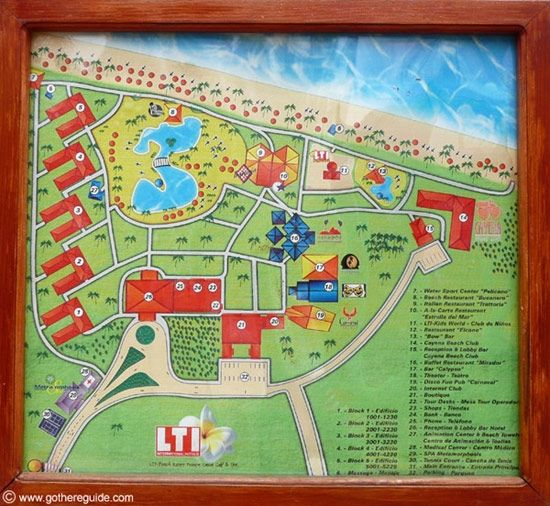 Punta Cana Resorts Map Vik Hotel Arena Blanca Cayena Beach 550 X 506 With Pixels