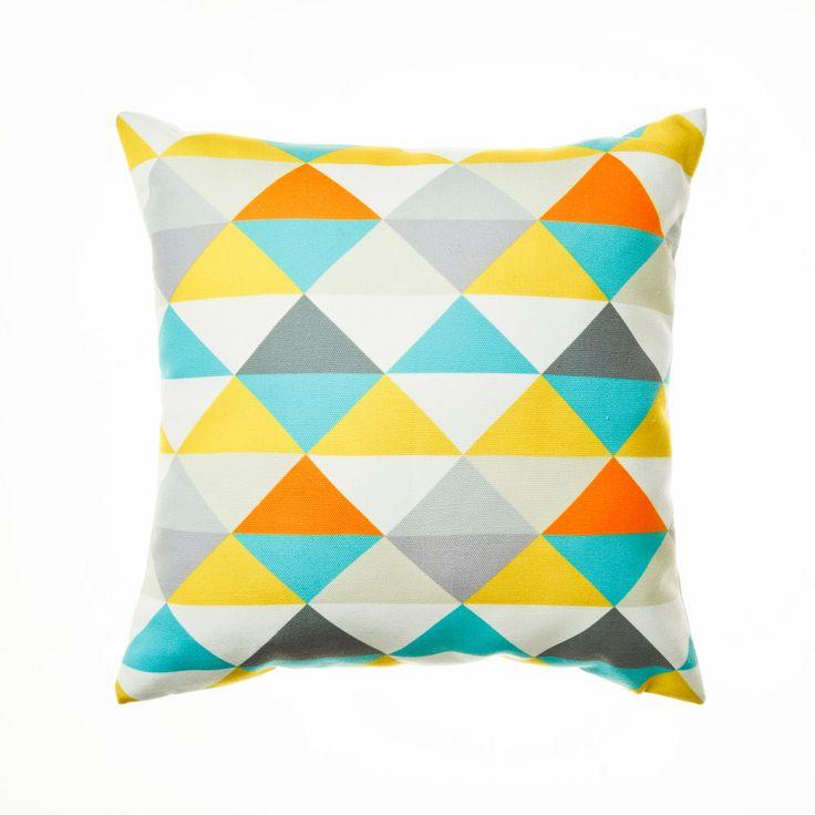 Home Republic Pyramid Green - Soft Furnishings Cushions - Adairs Online