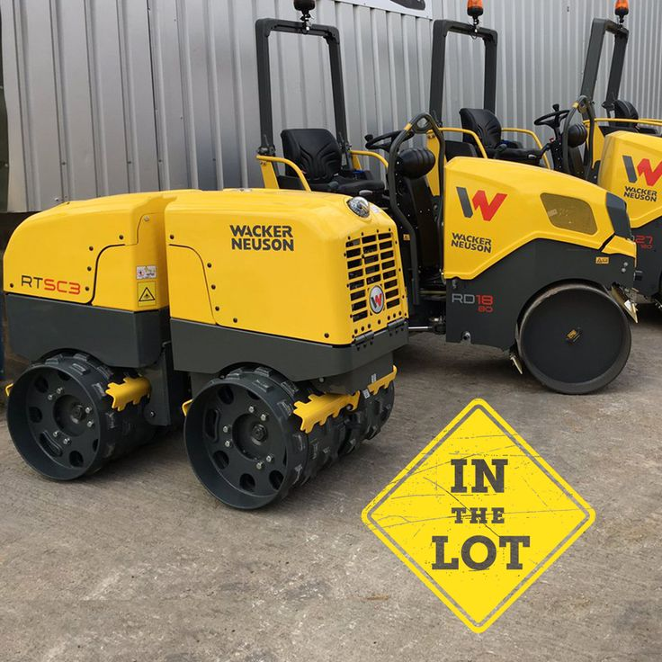 Vibratory Trench Roller