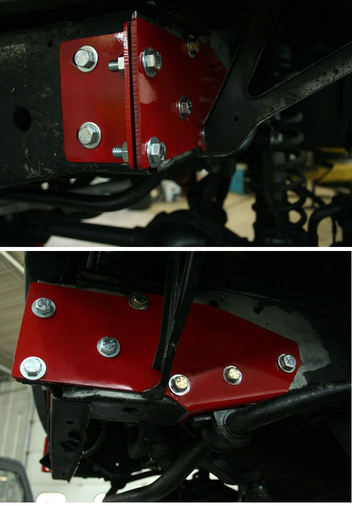 XJ Steering Box Brace + Uniframe Reinforcement Instructions? - JeepForum.com