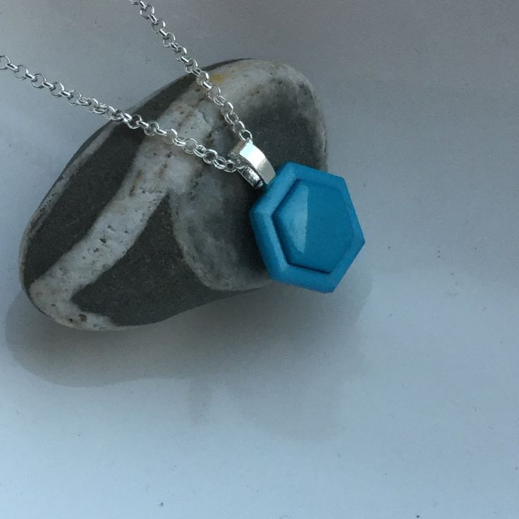necklaces and pendants, statement necklaces, necklaces for women, blue pendant, BFF necklace, blue necklace, gift for her, gift for Mom. by ButtonupStudio on Etsy