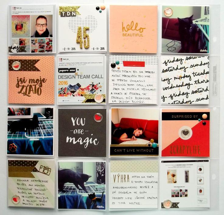 My little paper world...: WEEK 45