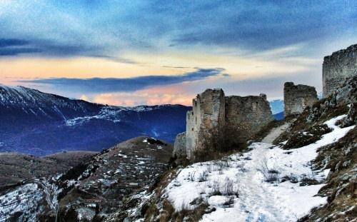 Rocca Calascio Abruzzo: Italy Italian, Italian Republic, Beautiful Scenes